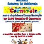 Sabato 10 Febbraio Grande Festa di Carnevale