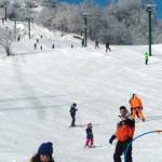Tantissima gente sulle nostre piste da sci